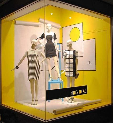 window fixtures nordstrom corner window display retail merchandising