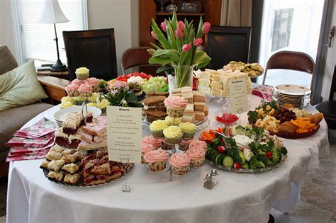 food ideas for couples wedding shower bridal shower menu wedding wednesday at cloverhill