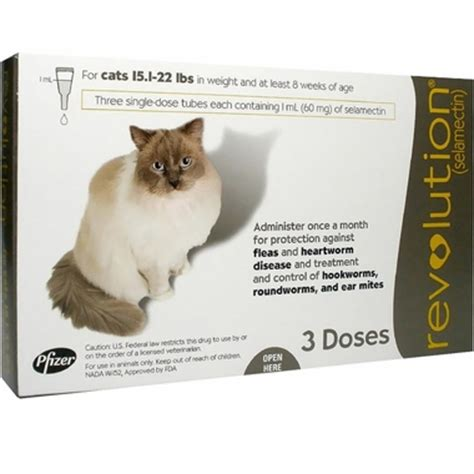 revolution for puppies kittens 5 lbs revolution for cats 15 1 22 lbs 3 mnth