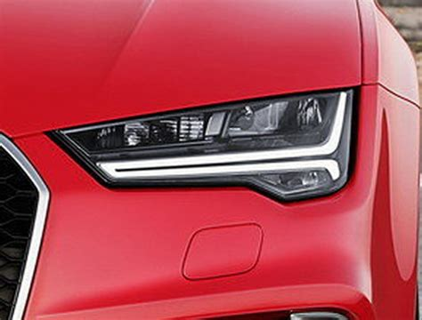 audi headlights in audi a7 4g all led facelift headlights bumper facelifted