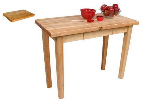 cutting board table boos c02 country maple butcher block 48x24x35 work