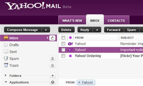 Yahoo Email Lookup Yahoo Mail Beta Speeds Up And Improves Search Lifehacker Australia