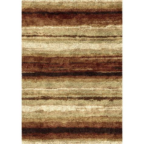 Orian Rugs Rural Road Red 7 Ft 10 In X 10 Ft 10 In Road Area Rug