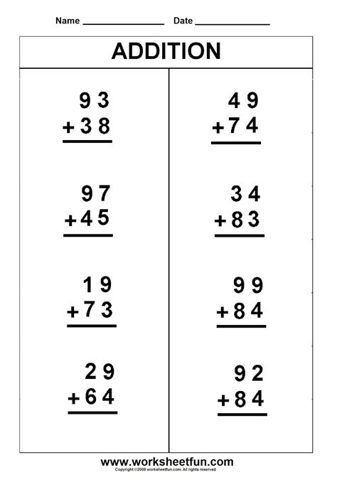 s 1s math worksheets s best free printable worksheets