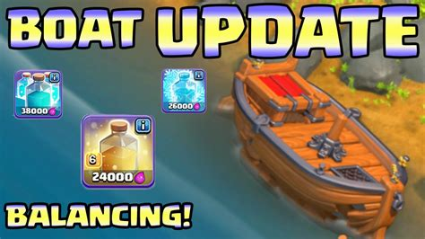 clash of clans boat videos clash of clans boat update more information balancing