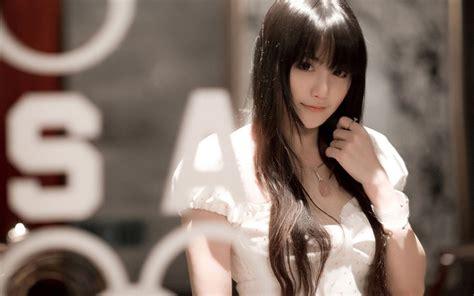 wallpaper girl xinh asian girls white dress wallpaper by hohao