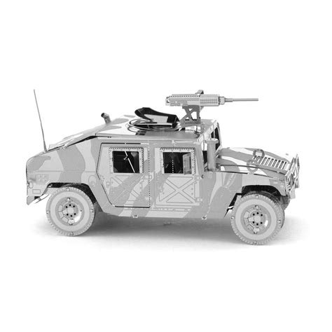 3d Metal Humvee metal earth iconx humvee 3d laser cut diy model armoured vehicle kit ebay