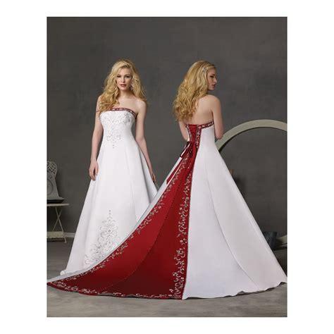 Wedding Dresses Black White And Red   Overlay Wedding Dresses
