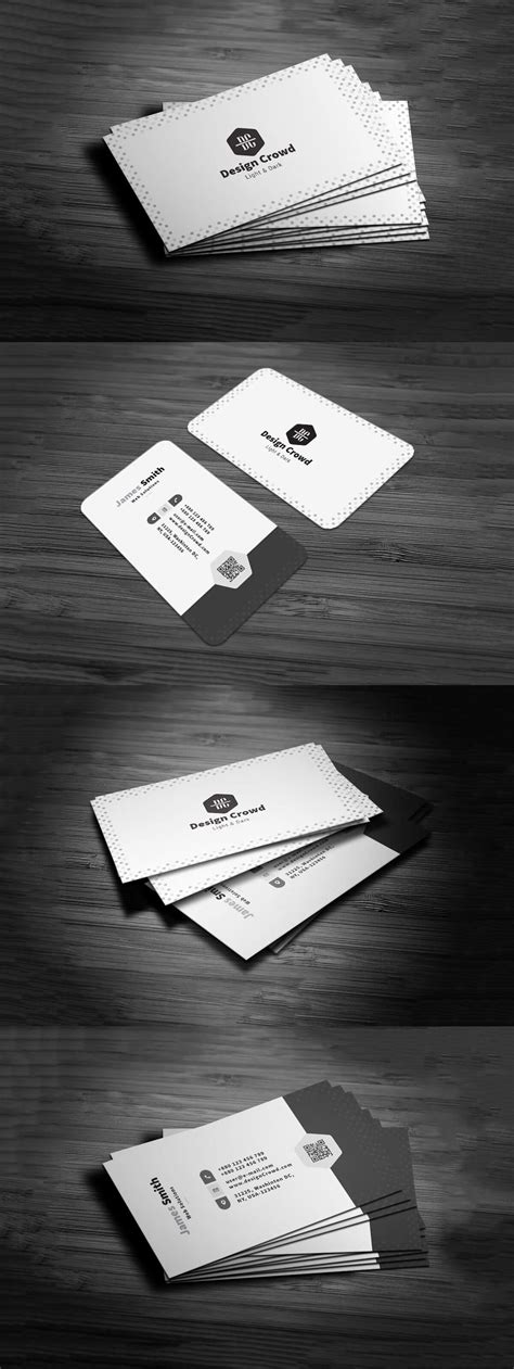 Minimalistic Business Card Template Free by Free Minimal Business Card Template Creativetacos