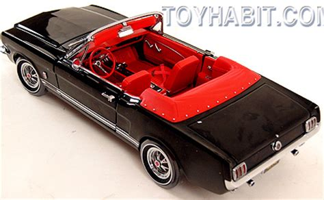 Ertl Authentics American 1965 Ford Mustang Gt 2 2 Fastback 1965 mustang gt convertible authentics series limited edition