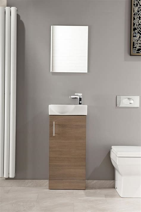 Cloakroom Vanity Units Slimline by Slimline 400 Vanity Basin Sink Unit Bathroom Cloakroom