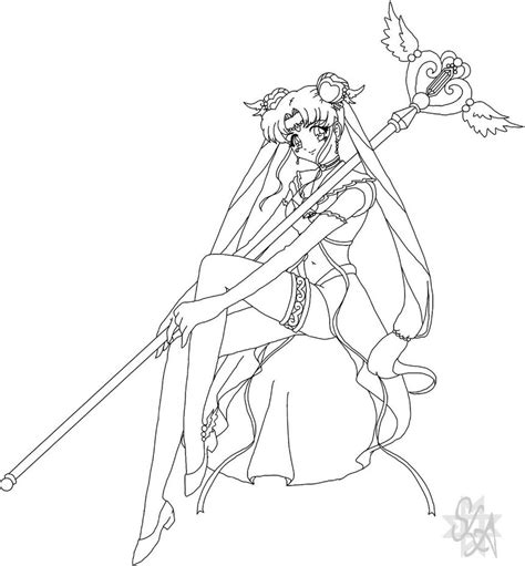 princess serenity coloring pages the gallery for gt sailor moon princess serenity coloring