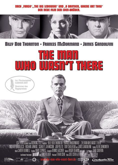jennifer jason leigh o brother where art thou filmplakat man who wasn t there the 2001 filmposter