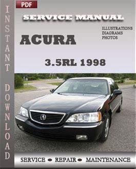 service repair manual free download 2012 acura rl navigation system acura 3 5rl 1998 workshop repair manual pdf servicerepairmanualdownload com
