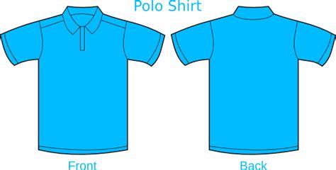 Kaos Jersey Poloshirt Biru Muda tshirt biru muda clip at clker vector clip royalty free domain