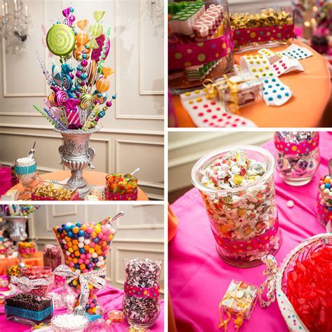 Wedding Reception Candy Bar Ideas