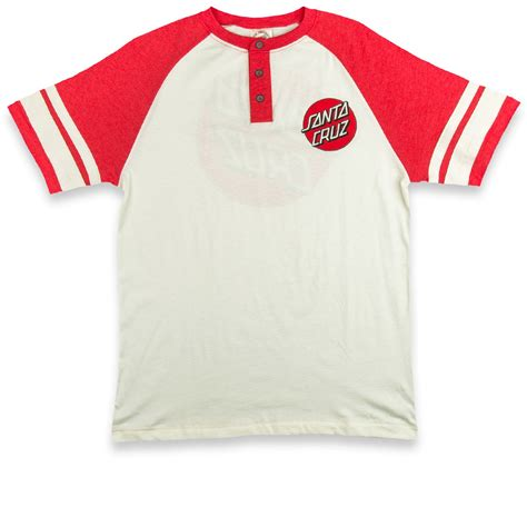 santa bond raglan henley t shirt vintage