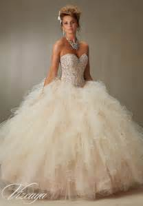 tulle ball quinceanera dress style 89068 morilee
