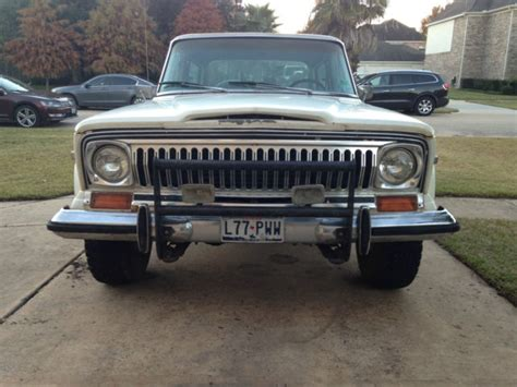 1977 Jeep Chief For Sale 1977 Jeep Chief Levi Edition Quadratrac Used