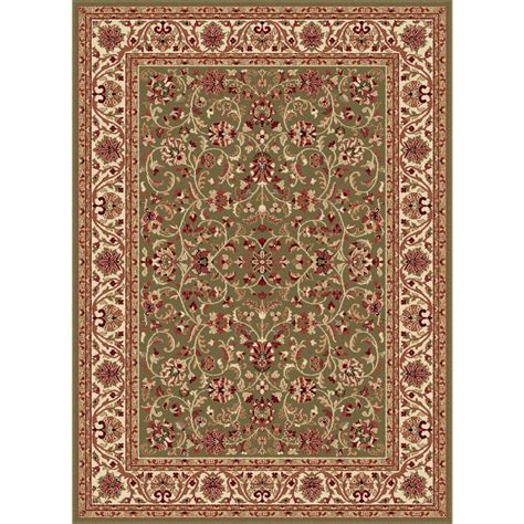 10 X 20 Area Rug Tayse Rugs Sensation Green 10 Ft 6 In X 14 Ft 6 In Traditional Area Rug Sns4815 11x15 The