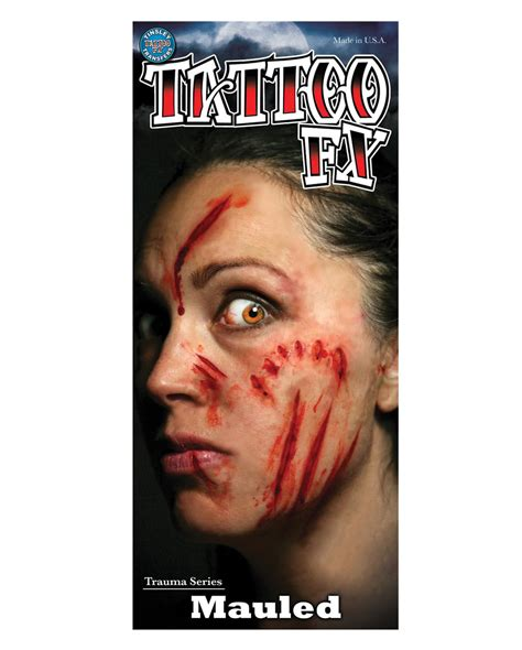 tattoo fx fx lacerations transfer horror shop