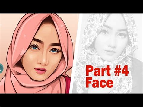 tutorial vektor vexcel vector vexel portrait tutorial part 4 face youtube