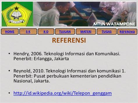 Pendidikan Teknologi Informasi Dan Komunikasi fungsi peralatan teknologi informasi dan komunikasi