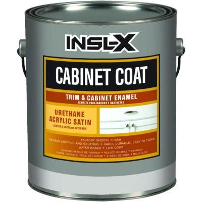 home depot paint one coat cabinetcoat 1 qt white satin trim and cabinet enamel