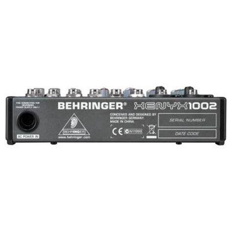 Mixer Behringer Xenyx 1002 Fx behringer xenyx 1002 mixer