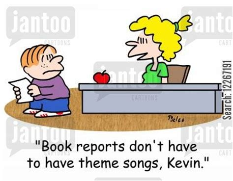 theme book report literature humor from jantoo