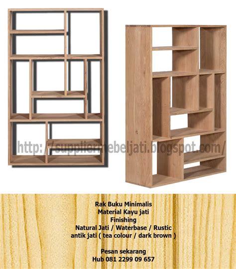 Rak Buku Surabaya jual mebel furniture rak lemari buku minimalis