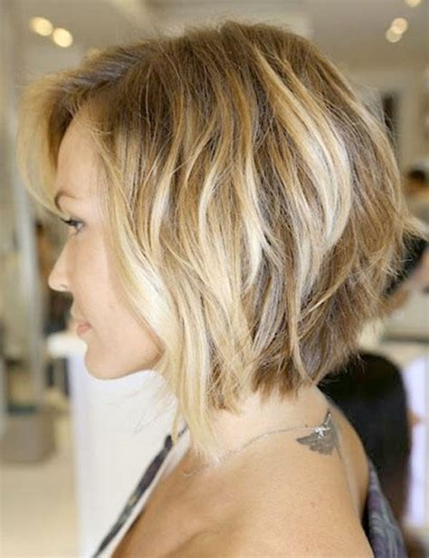 short bob hairstyle for thick hair and round face wavy hairstyles for thick hair hairstyles 2017 hair