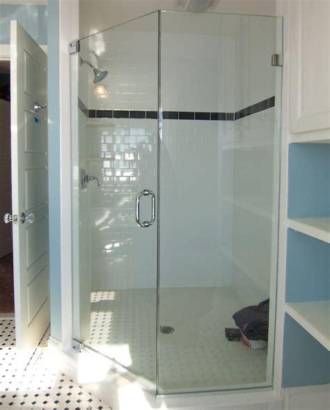 Neo Angle Shower Door King Shower Door Installations Shower Door King