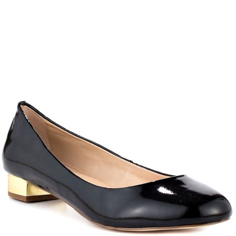 steven by steve madden paigge black patent shoes for