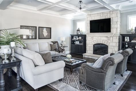 beautiful gray living rooms beautiful gray traditional living room other metro