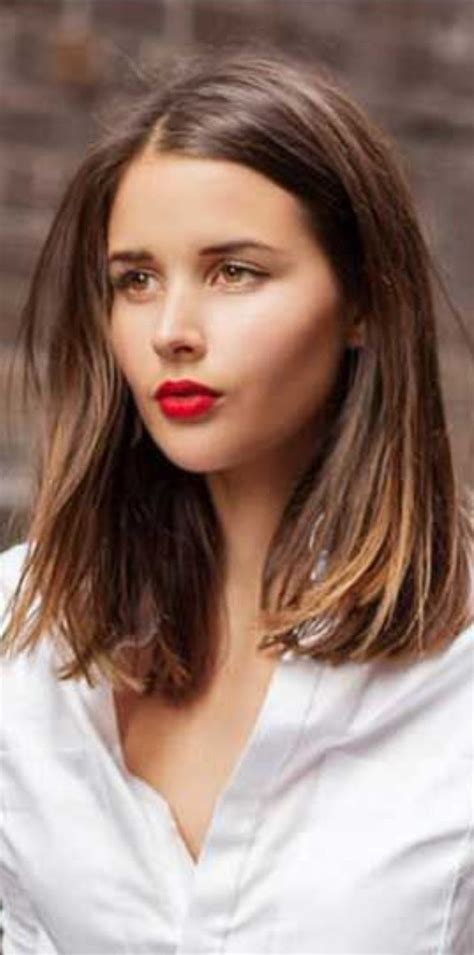 Mid Hairstyles by Best 25 Mid Length Haircuts Ideas On