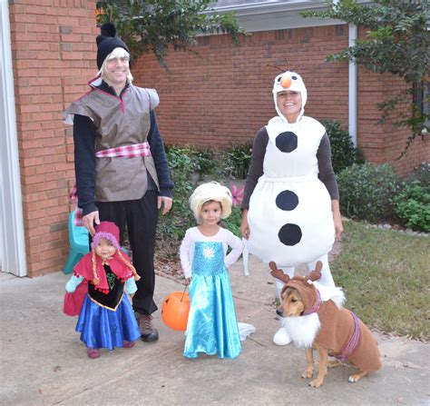 Kostum Kristoff Frozen by Family Costume Frozen Elsa Olaf Kristoff And Sven