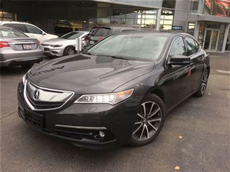 acura creek service coupons 2016 acura tlx elite only5300kms 9000off demo tint