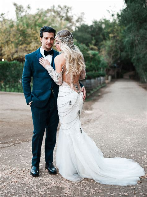 DWTS Mark Ballas   BC Jean's Bold, Bohemian Inspired Wedding   Green Wedding Shoes   Weddings