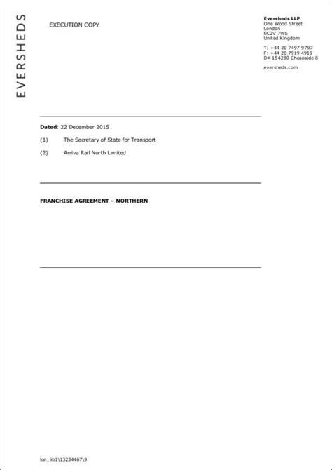 franchise agreement template uk 4 franchise agreement sles templates word pdf