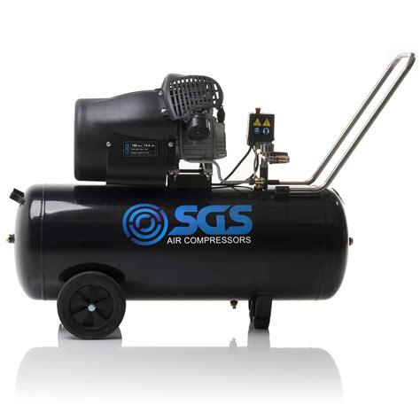 100 litre air compressor 14 6 cfm ebay