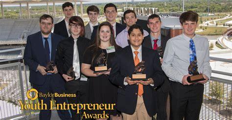 Baylor Mba Sports Management by Baylor Youth Entrepreneur Of The Year Awards