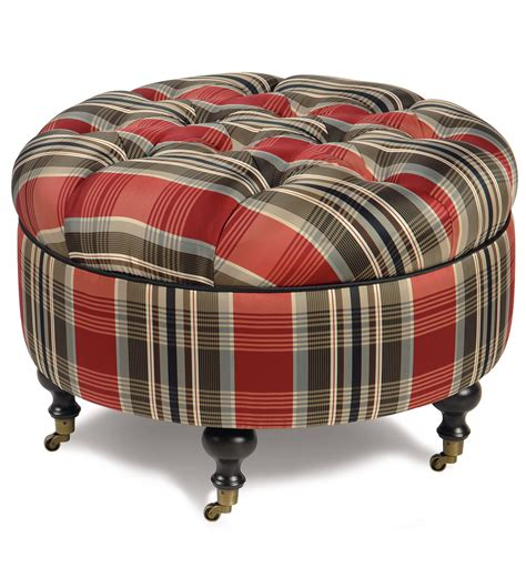 Small Round Ottoman Giving Extra Update in Your Home Decor   HomesFeed