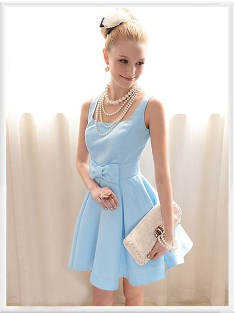 Dress Of The Day B With G Baby Doll Dress 2 by Baby Blue Dress And Pearls Clothes Inspiration