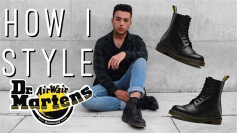 what to wear with dr martens brown men how i style dr martens grunge outfits mens fashion