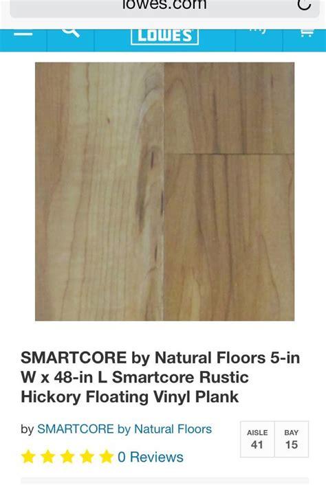 smartcore flooring smartcore vinyl plank flooring from lowes basement