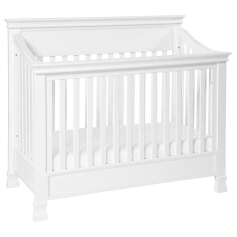 Million Dollar Baby Classic Foothill Convertible Crib With Toddler Rail Million Dollar Baby Classic Foothill 4 In 1 Convertible Crib In White M3901w