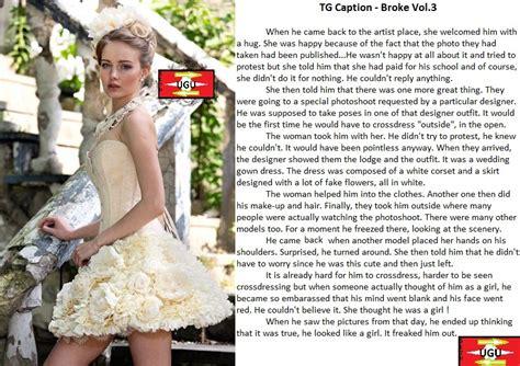tales of crossdressing vol 10 ffg transgender fiction tg caption broke vol 3 by ugu deviant 2 on deviantart