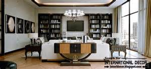 All White Home Interiors stylish art deco interior design and furniture in london