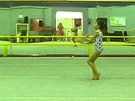 10 year gymnast floor routine shahrzad 10 years gymnastic floor routine in iran